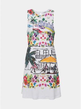 2885538df4c2 Desigual Dámske šaty Vest Kristal Blanco 19SWVWAW 1000 42 značky ...