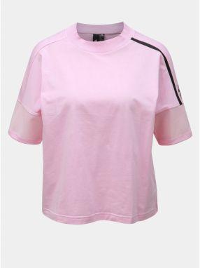e25ff5942360 Converse lososové dámske tričko s nápismi značky Converse - Lovely.sk