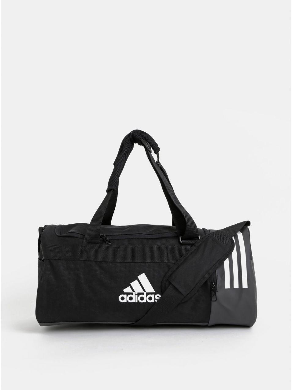 a100ef04a2 Čierna športová taška batoh adidas Performance značky adidas ...