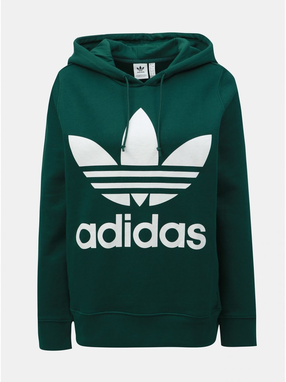 e3392e15b Zelená dámska mikina adidas Originals Trefoil značky adidas ...