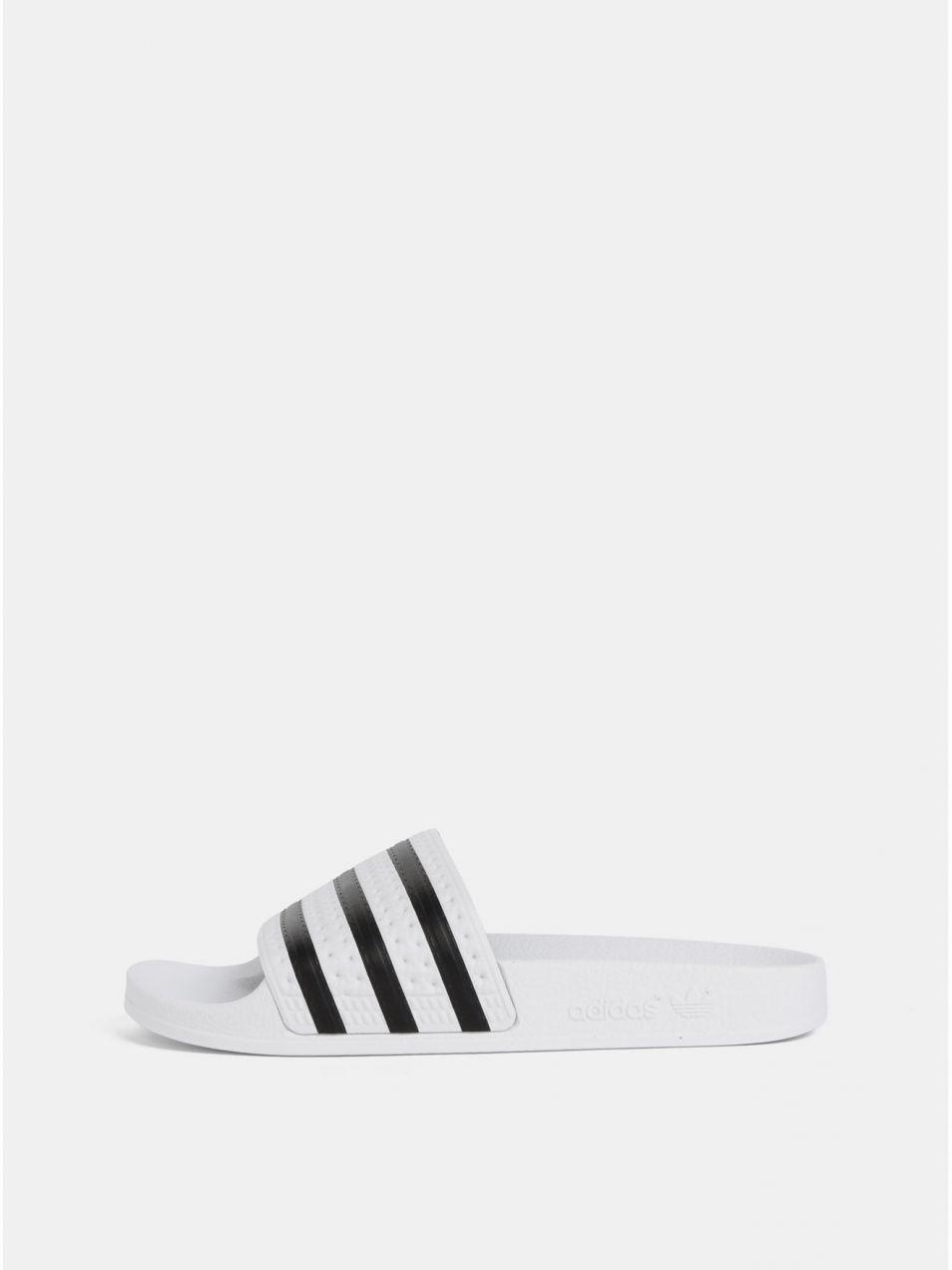 c13a75fddb Biele šľapky adidas Originals Adilette značky adidas Originals ...