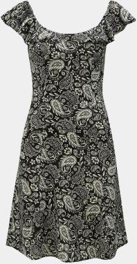 91d3140e8ffe Čierne šaty s bielymi bodkami a ozdobou Dorothy Perkins značky ...