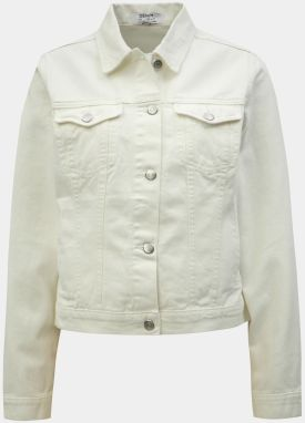 6f719f188c29 Biela dámska krátka rifľová bunda QS by s.Oliver značky QS by s ...