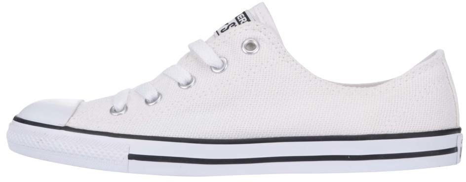 Biele dámske tenisky Converse Chuck Taylor All Star Dainty značky Converse  - Lovely.sk c2ad764d735