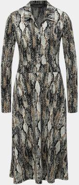ad10f0f1ad64 Béžové košeľové šaty s hadím vzorom Dorothy Perkins Tal