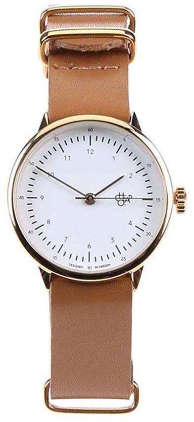 Hnedé dámske kožené hodinky Cheapo Harold Mini Gold značky Cheapo -  Lovely.sk 763b315458