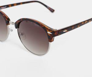13e5000b65 Hnedé vzorované slnečné okuliare VERO MODA Carol značky Vero Moda ...