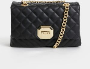 3f15eab60d Čierna dámska listová kabelka v lakovanej úprave značky Baťa - Lovely.sk