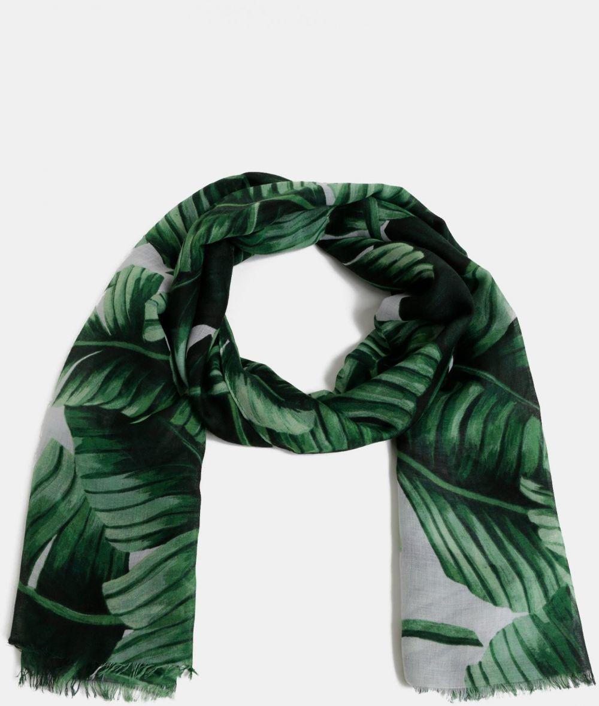 1c6aa9b9c Zelená vzorovaná šatka Haily´s Kimmy značky Haily´s - Lovely.sk
