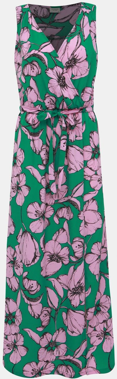9e3396f31f Rúžovo-zelené kvetované maxišaty Jacqueline de Yong Kamma značky ...