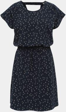 58d830dc16 Tmavomodré vzorované šaty Jacqueline de Yong Billie