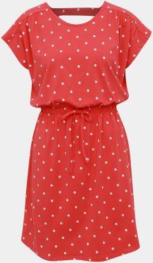 8dc6e894ed Červené bodkované šaty Jacqueline de Yong Billie