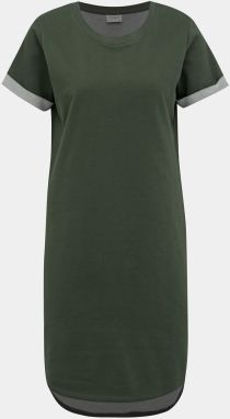 30296971d9 Khaki mikinové šaty Jacqueline de Yong Ivy