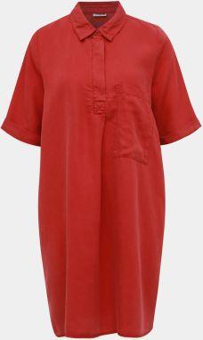 11f34c148 Tehlové košiľové šaty s vreckom Noisy May Carly