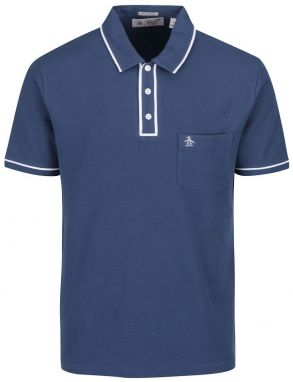 Tmavomodrá slim fit polo košeľa Original Penguin Earl