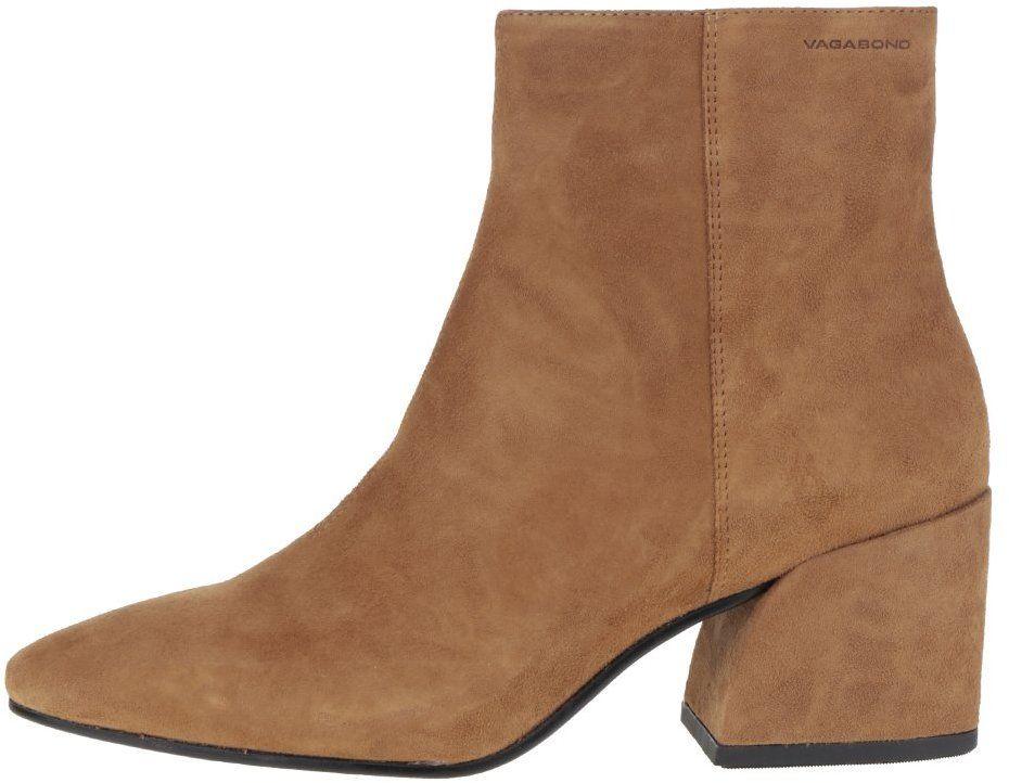 265eb7a7082a9 Hnedé dámske semišové členkové topánky Vagabond Olivia značky Vagabond -  Lovely.sk