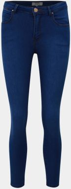 Modré skinny fit rifle Dorothy Perkins Petite Bailey