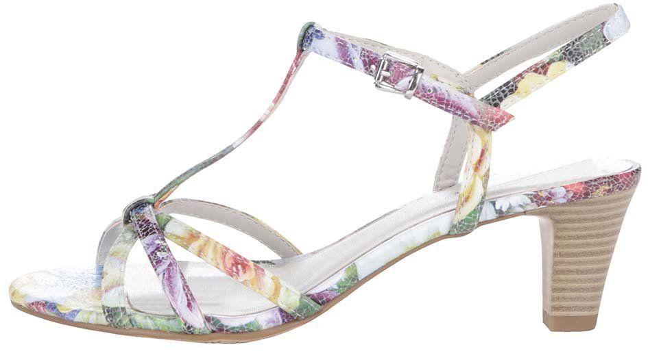 d864cf69ca5d9 Farebné sandálky na podpätku Tamaris značky Tamaris - Lovely.sk