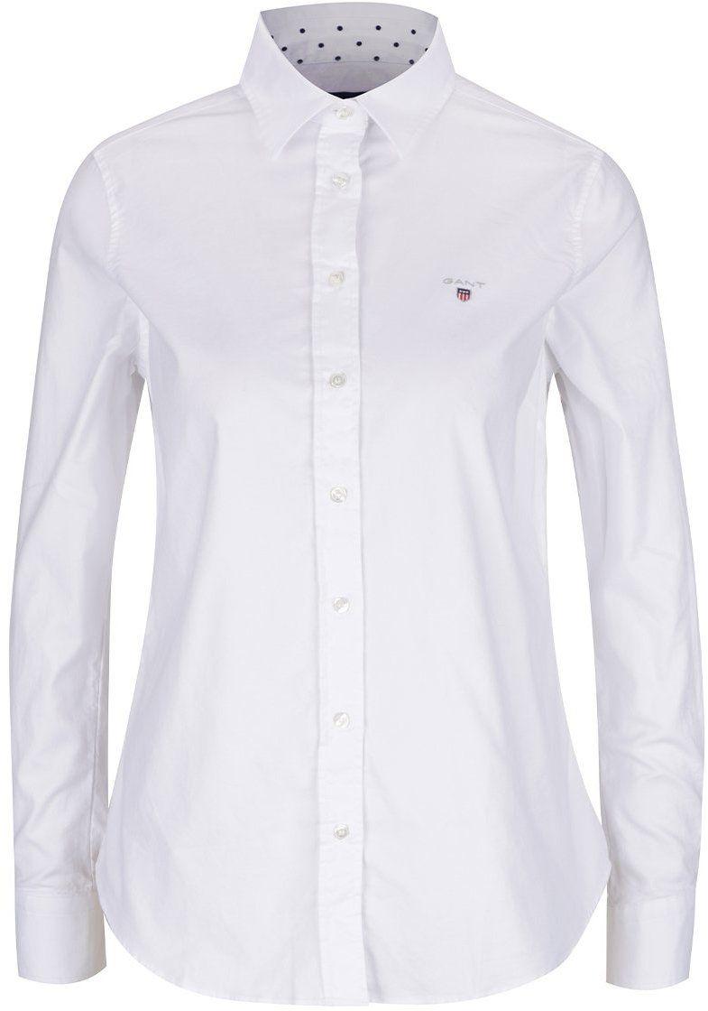 8de53ea0550c Biela dámska košeľa GANT Oxford značky Gant - Lovely.sk