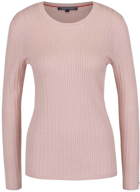 ebee421db6 Svetloružový dámsky sveter Tommy Hilfiger značky Tommy Hilfiger - Lovely.sk