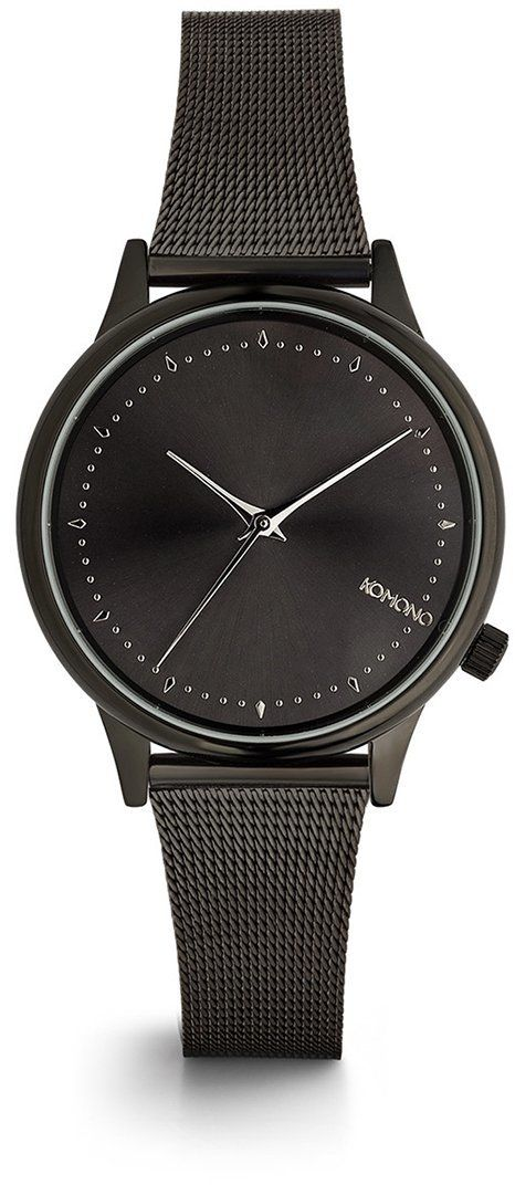 Čierne dámske hodinky s kovovým remienkom Komono Estelle Royale značky  Komono - Lovely.sk a8af40ff5f3