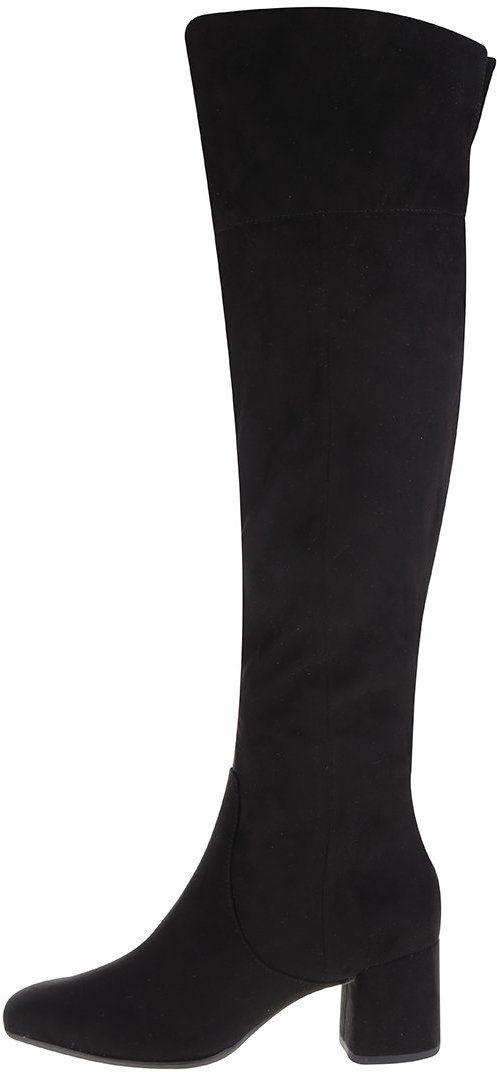 Čierne vysoké čižmy Tamaris značky Tamaris - Lovely.sk 4450ddd6dd2