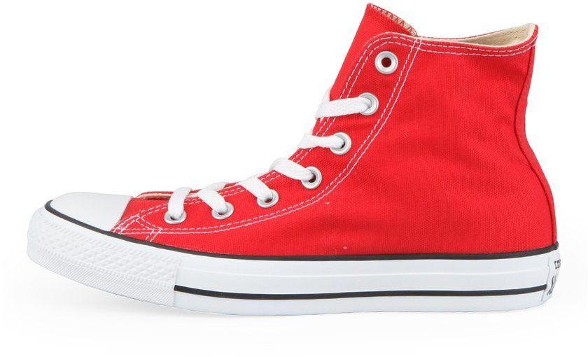 Červené unisex členkové tenisky Converse Chuck Taylor All Star ... e9c1774ce50