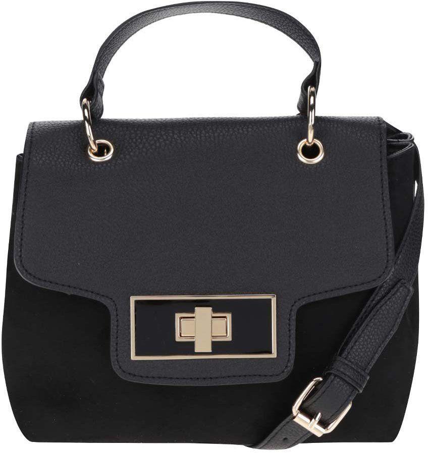 dd4234350a Čierna crossbody kabelka v semišovej úprave Dorothy Perkins značky Dorothy  Perkins - Lovely.sk