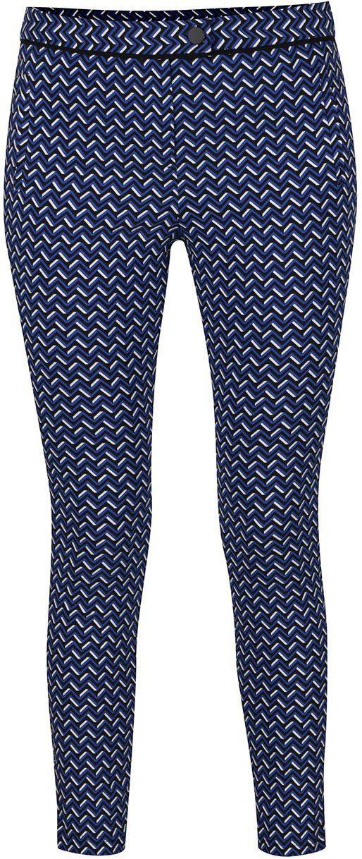 41ca70831478 Modré vzorované nohavice Dorothy Perkins značky Dorothy Perkins - Lovely.sk