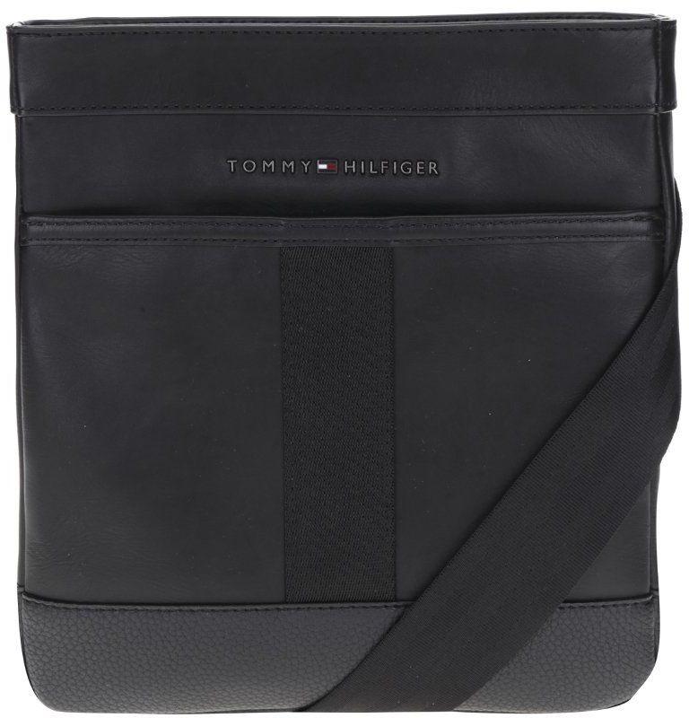 Čierna pánska kožená crossbody taška Tommy Hilfiger značky Tommy Hilfiger -  Lovely.sk e25a7c22b3f