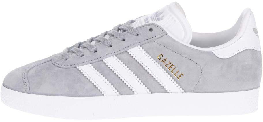Bielo-sivé dámske tenisky Bílo-šedé dámské tenisky adidas Originals Gazelle  značky adidas Originals - Lovely.sk 11ba7d17bd8
