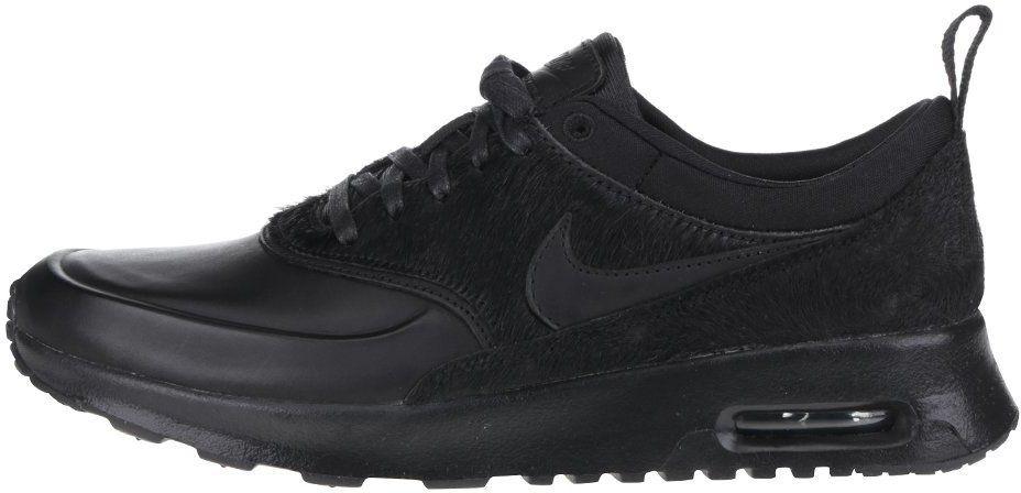 Čierne dámske tenisky Nike Air Max Thea Premium značky Nike - Lovely.sk fdb43a146ce