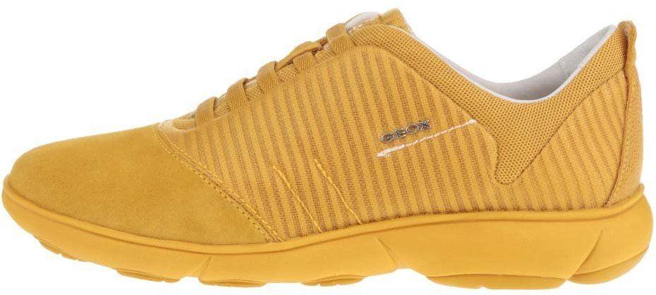 Žlté dámske tenisky so semišovou špičkou Geox Nebula G značky Geox -  Lovely.sk 8e6ef1b75dd