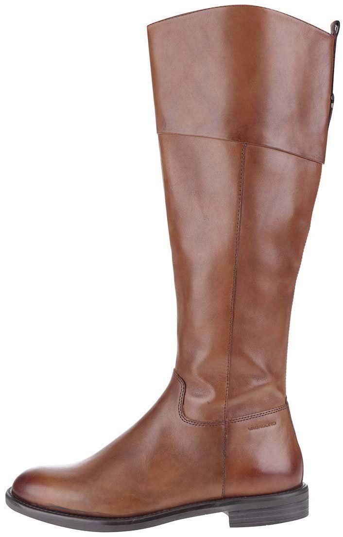0a163240de Hnedé dámske kožené vysoké čižmy Vagabond Amina značky Vagabond - Lovely.sk
