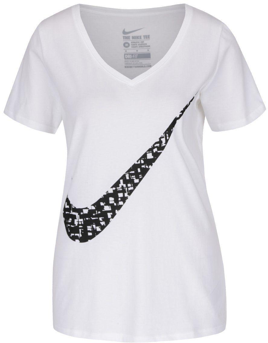 10d62a5d8d5e Biele dámske tričko s potlačou Nike Training značky Nike - Lovely.sk