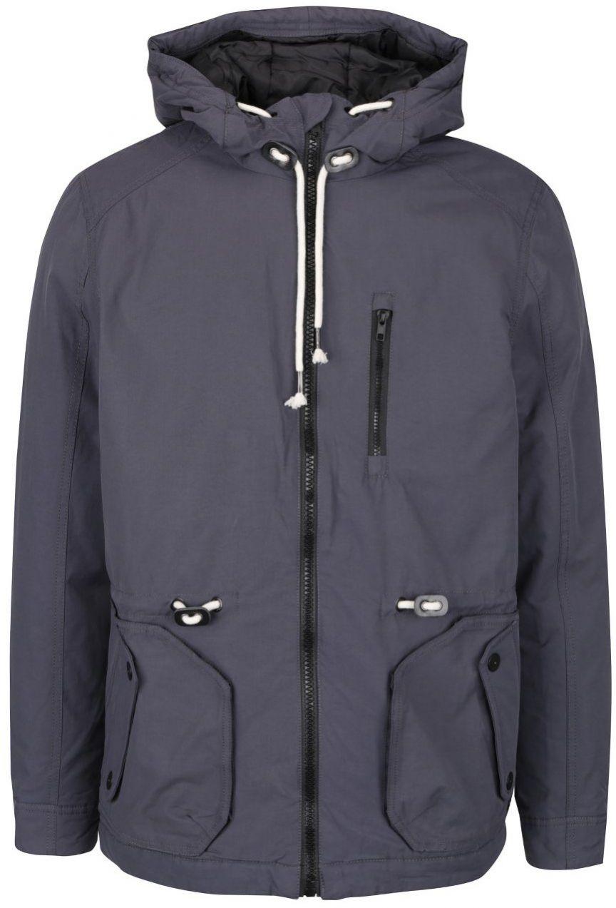 Tmavosivá bunda s kapucňou Blend značky Blend - Lovely.sk 9138adbfc20