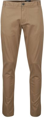 Svetlohnedé chino nohavice Selected Homme One