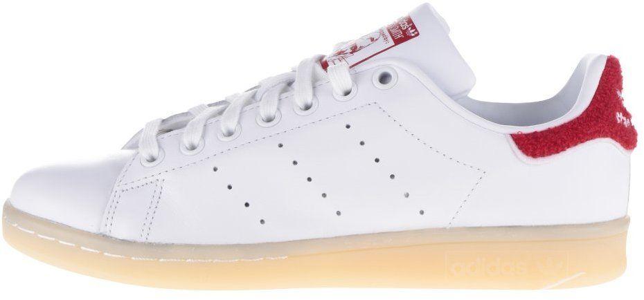 Červeno-biele dámske tenisky adidas Originals Stan Smith značky adidas  Originals - Lovely.sk c35fdba4f5f