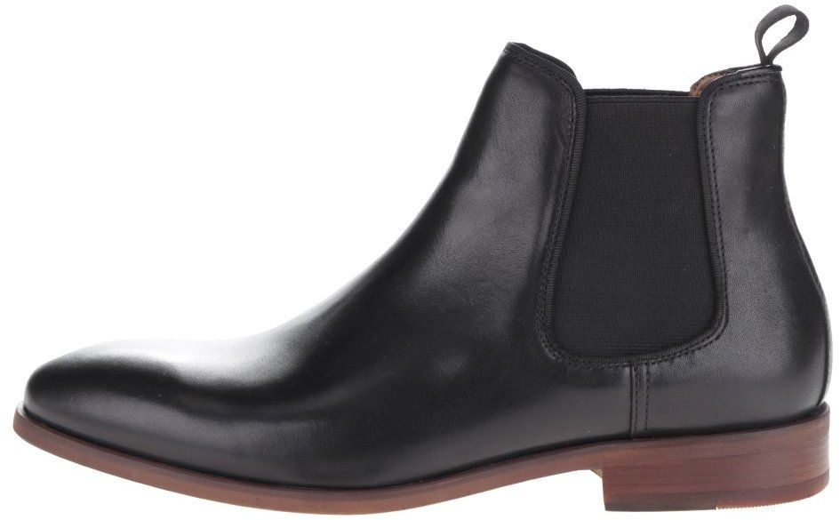 c5238d0a5ff26 Čierne pánske kožené chelsea topánky ALDO Croaven značky ALDO - Lovely.sk