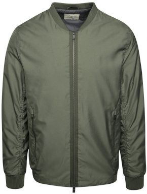 Tmavozelený bomber Selected Homme Newlight