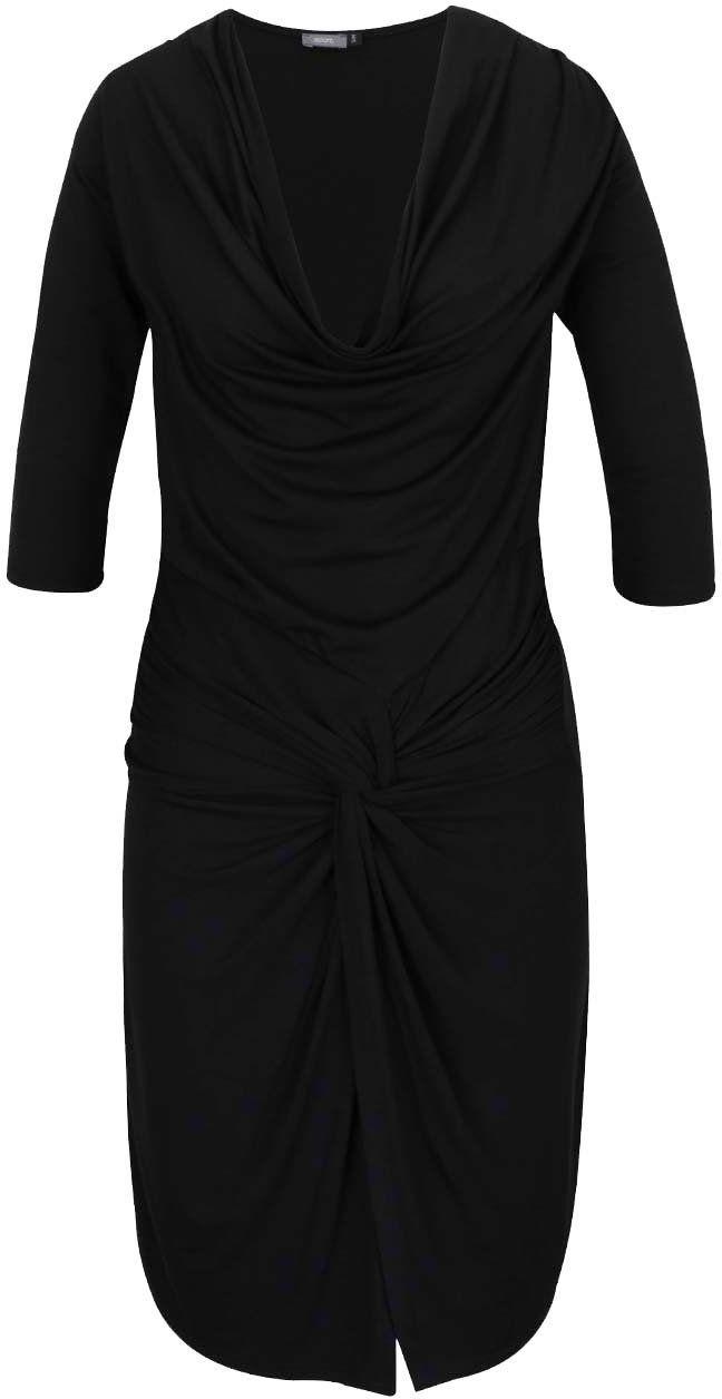 e9ccb2ce7b7a Čierne šaty s preveseným výstrihom ZOOT značky ZOOT - Lovely.sk