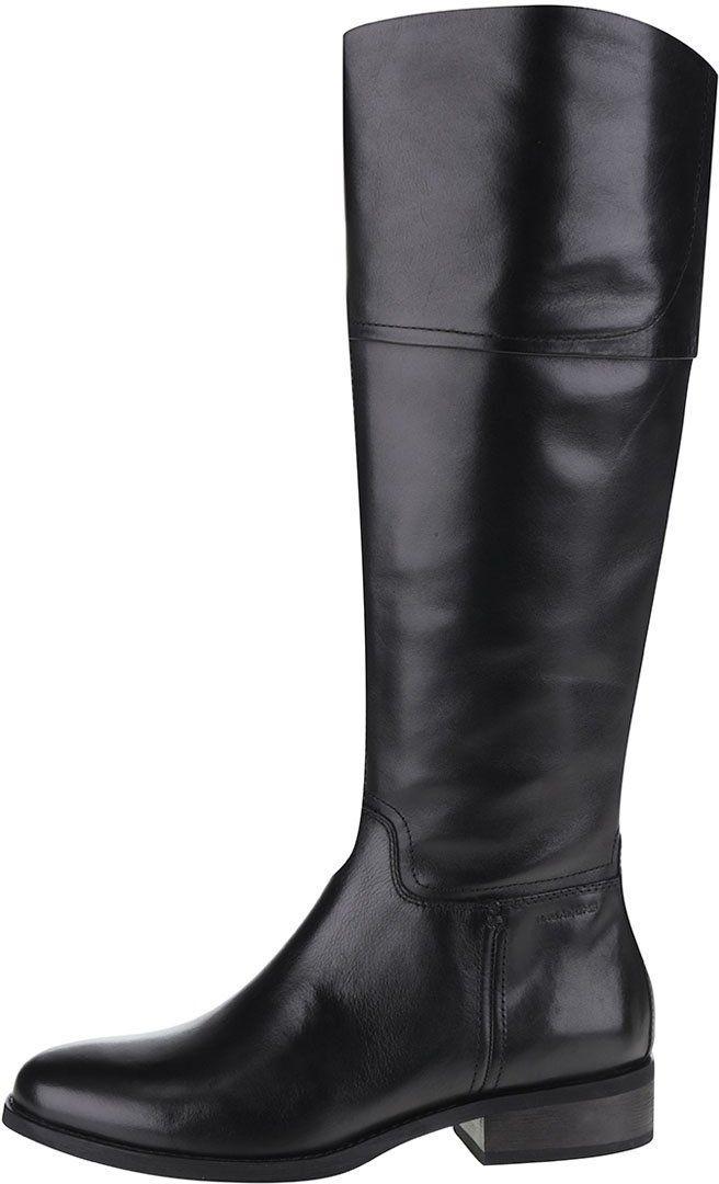 Čierne kožené čižmy Vagabond Cary značky Vagabond - Lovely.sk 08c500c362a