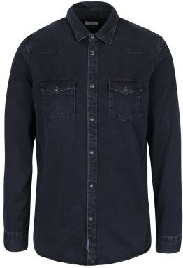 Čierna slim fit košeľa Selected Homme One Marlon