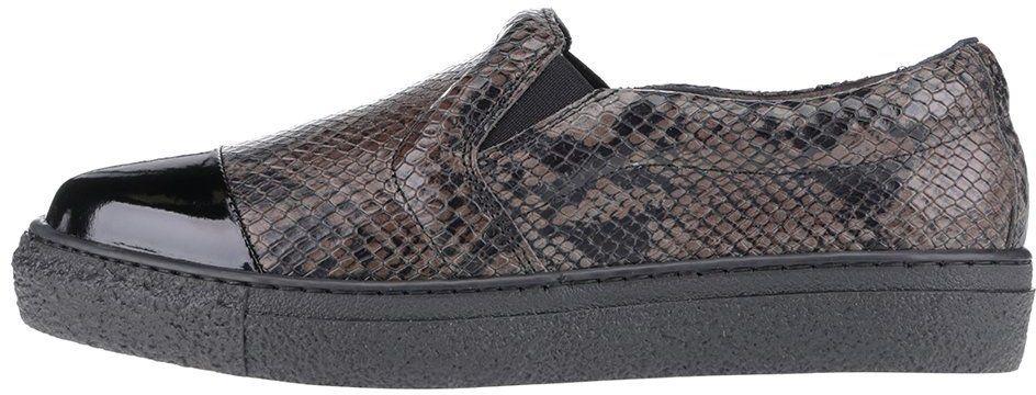 a9017ab3dd Čierne kožené loafers s hadím vzorom OJJU Forty značky OJJU - Lovely.sk