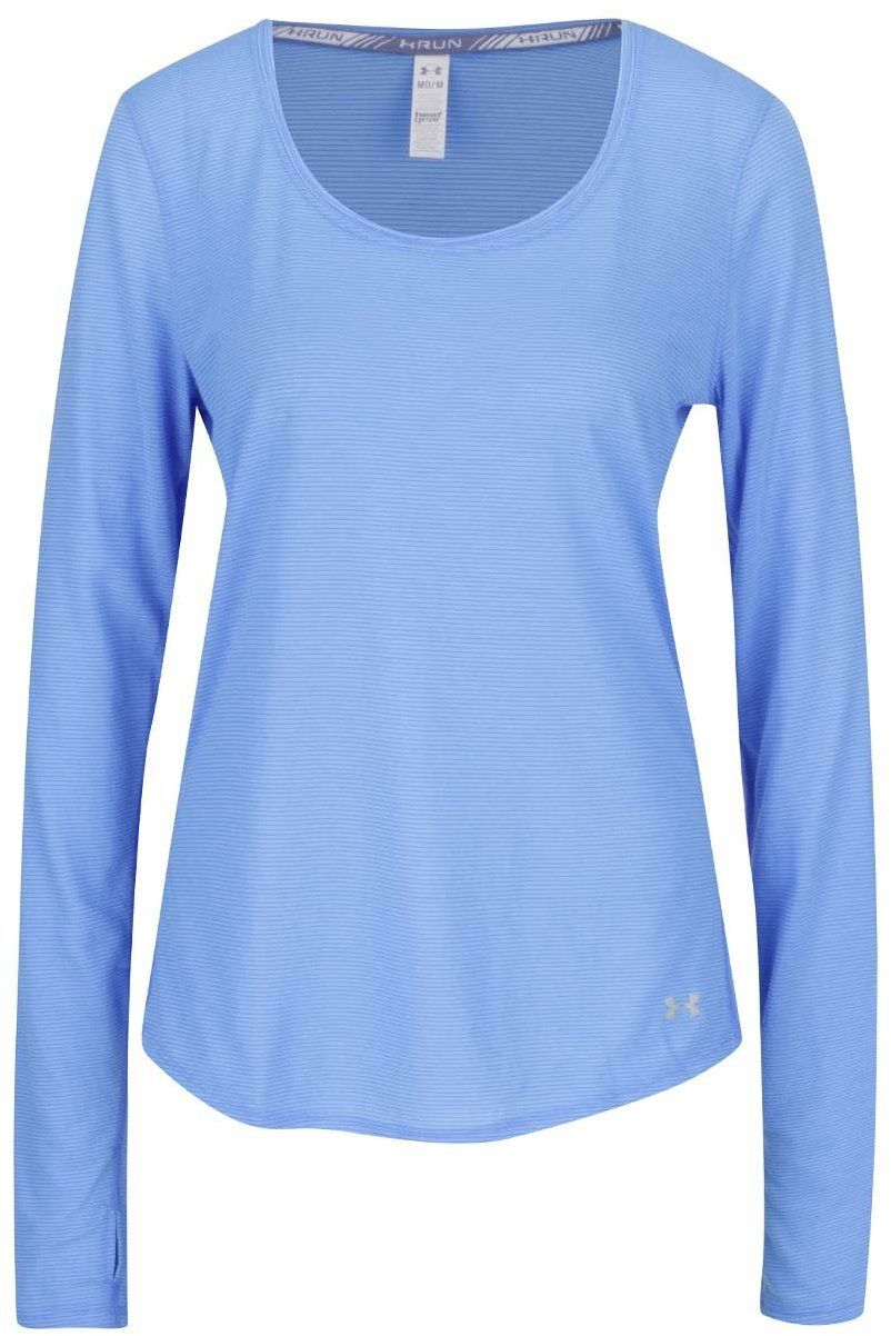 Modré dámske funkčné tričko s dlhým rukávom Under Armour Steaker LS značky UNDER  ARMOUR - Lovely.sk 67403ff87b0