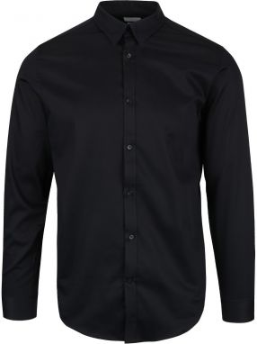 Čierna slim fit košeľa Selected Homme Done