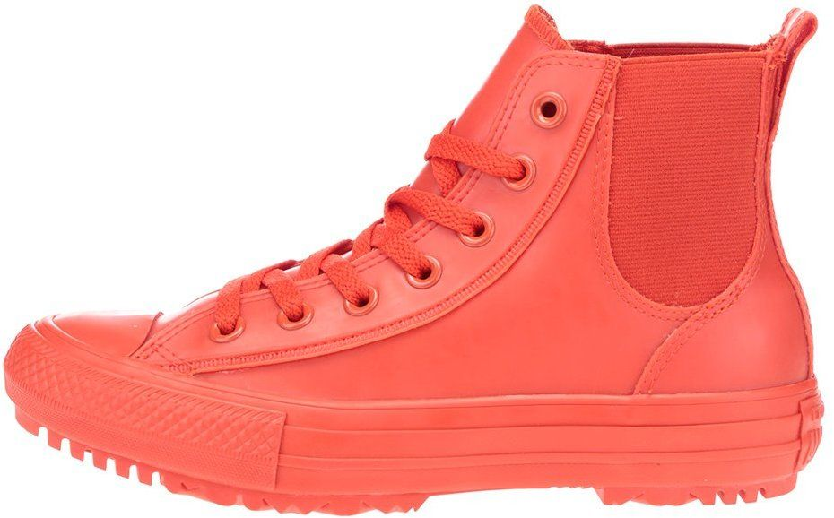 Červené dámske členkové tenisky Converse Chuck Taylor All Star Chelsea Boot  značky Converse - Lovely.sk 40973a376ad