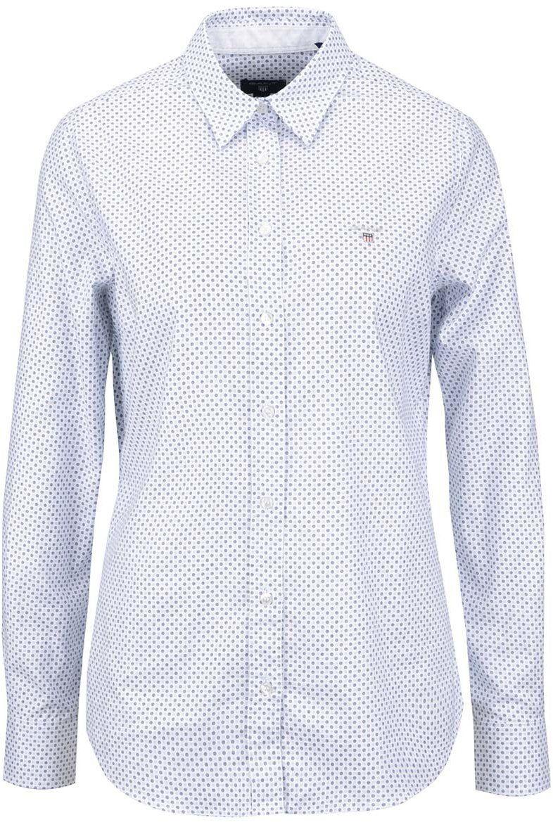 19e89db1b45f Biela dámska košeľa s drobným vzorom GANT značky Gant - Lovely.sk