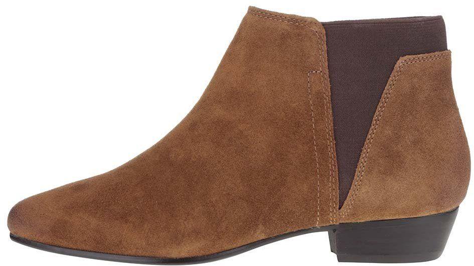2d0bf59869 Hnedé dámske semišové členkové topánky ALDO Siman značky ALDO - Lovely.sk