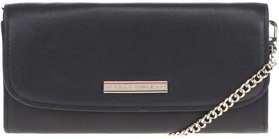 4bef7ff4b Čierna malá kožená kabelka cez rameno Tommy Hilfiger značky Tommy Hilfiger  - Lovely.sk
